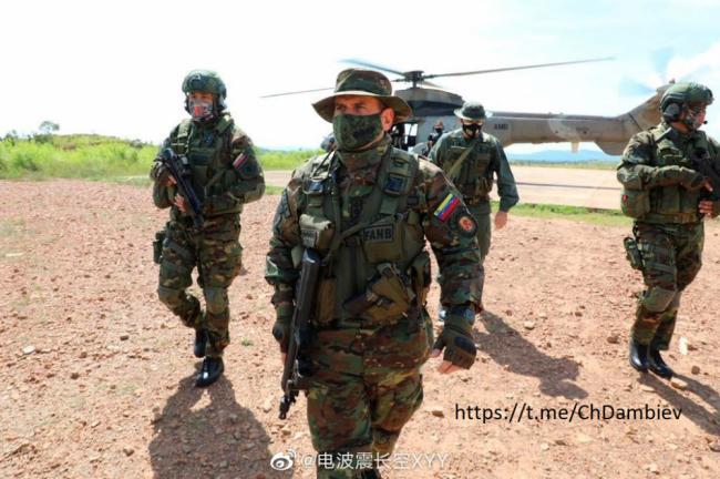 委内瑞拉特种部队装备中国产轻武器