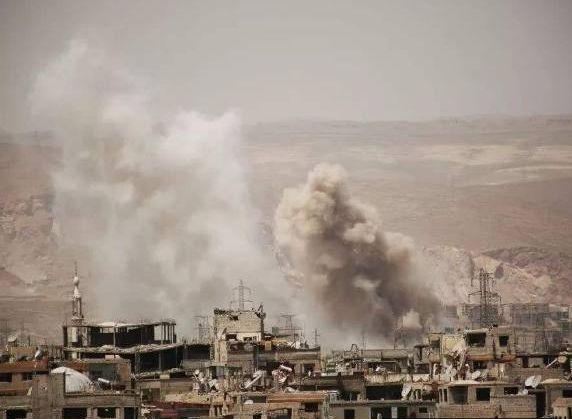 美军对叙利亚划下动武红线 准备在战场上一决胜负