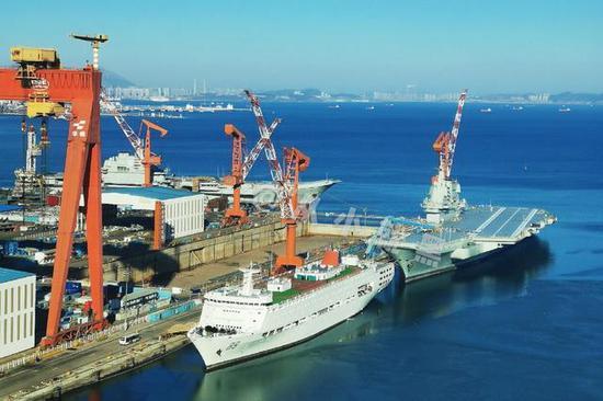 大连造船厂泄国产第四艘航母开工信号 核动力可能性小