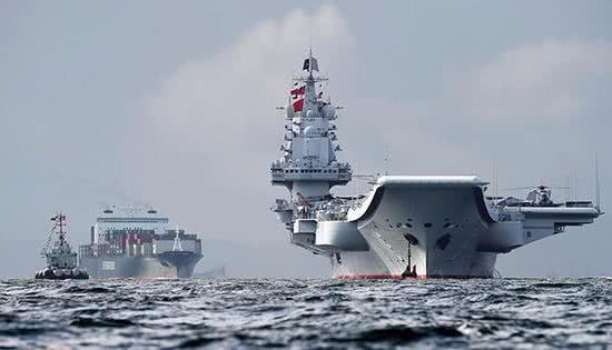 中国海军拿下一项世界第一 新航母进入模块建造阶段