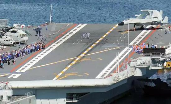 国产航母海试时间创纪录 或密集进行歼15着舰测试