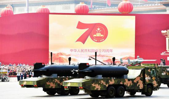 阅兵式上该不起眼武器重要不输东风17 堪称潜艇克星