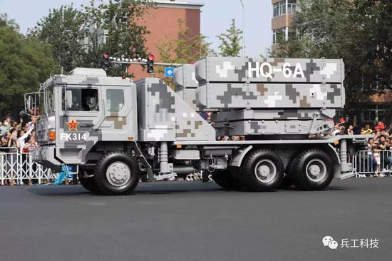 红旗6A为何如此奇特 一套武器竟有三辆车分开运载