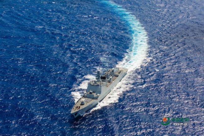 海军南海实战化演练 海上打击目标