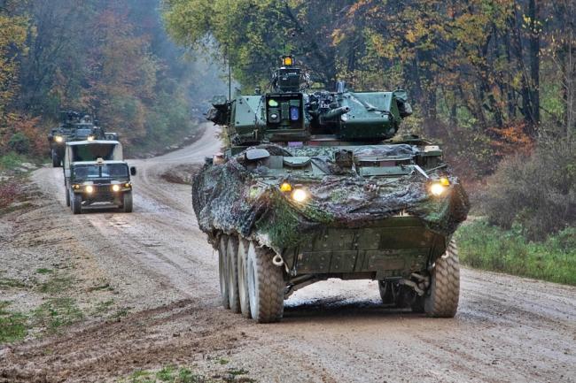 法国最强坦克集结 参加龙骑兵就绪演习