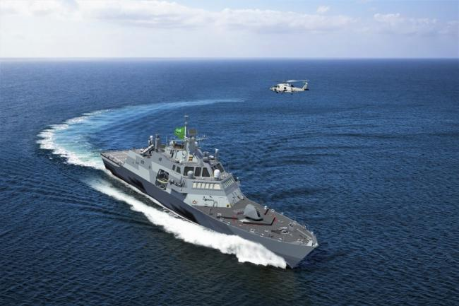 沙特版濒海战斗舰开造 百亿美元造4艘