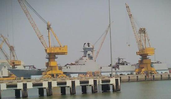 印度新军舰再创世界纪录:集齐至少七国装备