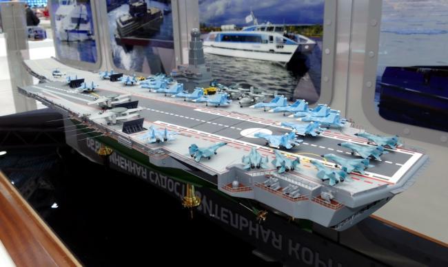 普京看过的俄军航母方案 细节来了