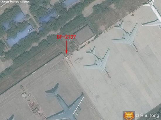 疑似空射型东风21D导弹现身 中国远轰终与美俄鼎立