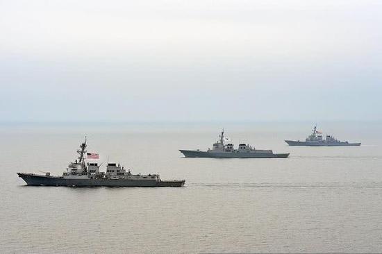 全球水面战舰强国盘点:共八国 俄罗斯都排不上号
