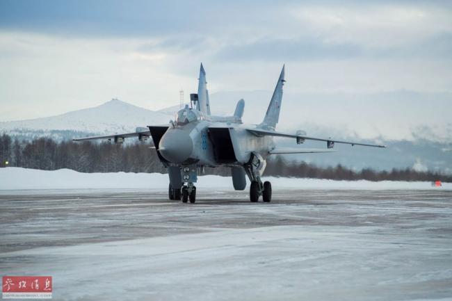 不懼嚴寒!俄空軍兩大主力戰機巡航北極圈