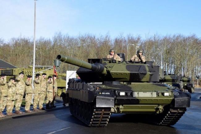 丹麥陸軍喜提全球最強豹2A7坦克