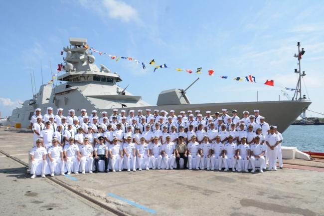 墨西哥新型護衛艦入役:外形相當帥氣