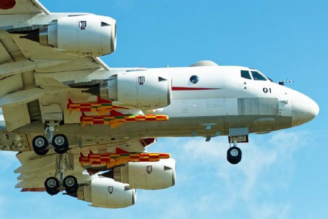 日本改進型反艦導彈測試:壹次掛4枚