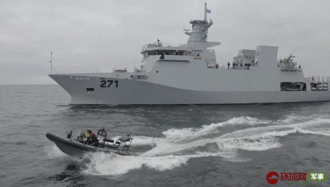 巴基斯坦巨资引进欧洲巡逻舰 浑身光秃秃的