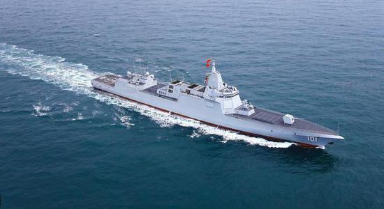 同为万吨大驱 日本摩耶级为何无法与中国055相提并论