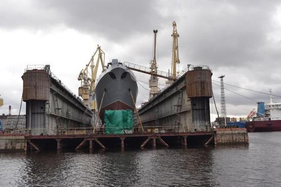 俄军神盾舰开工已8年却惨遭西方卡脖子 可向中国求助