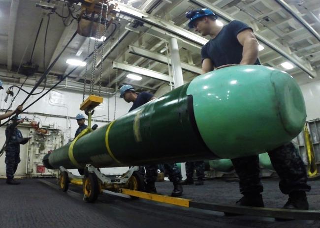 美國MK48重型魚雷:世界最先進的魚雷