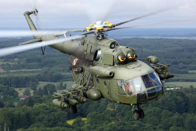 超凶的河马直升机!谁不服瞪死你