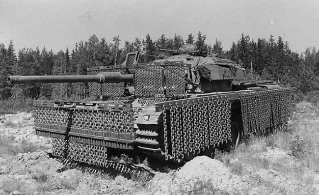 坦克装备的锁子甲:链条装甲 有效抵御RPG
