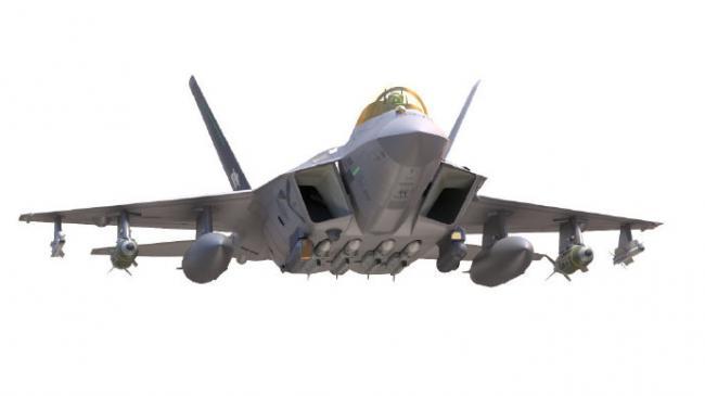 韩国首架4.5代KF-X战斗机预计明年下线