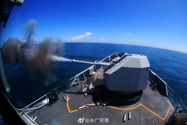 东部战区海军见招拆招练硬功