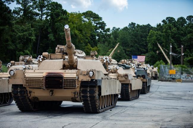 不要坦克了!美国海军陆战队退役M1A1坦克