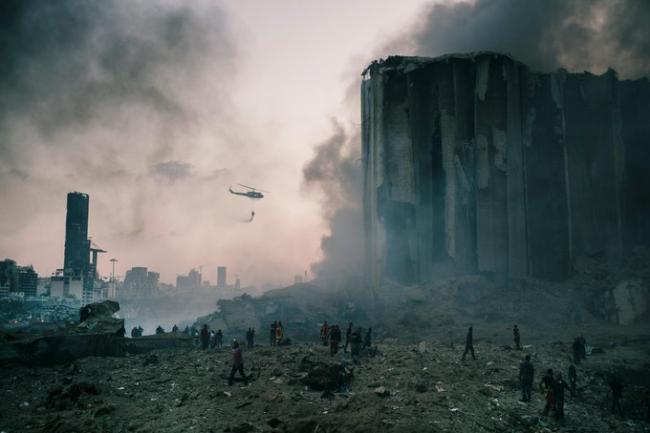 实拍贝鲁特大爆炸:战术核武规模