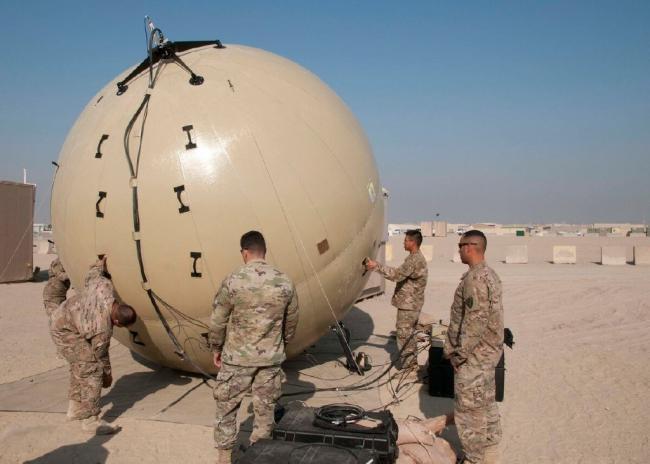 美军装备的这种大球很醒目,猜猜是啥?