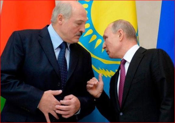 普京磨刀霍霍 准备出兵白俄罗斯