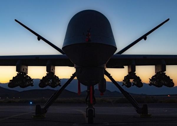 美国死神无人机火力升级 空对地导弹倍增
