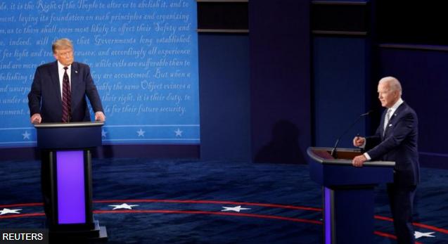 大选辩论刚结束 川普确诊拜登还好吗?
