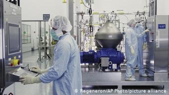 Regeneron Pharmaceuticals Antikörper Forschung (Regeneron/AP Photo/picture alliance)