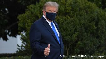Washington | Trump Abflug Militärkrankenhaus (Saul Loeb/AFP/Getty Images)