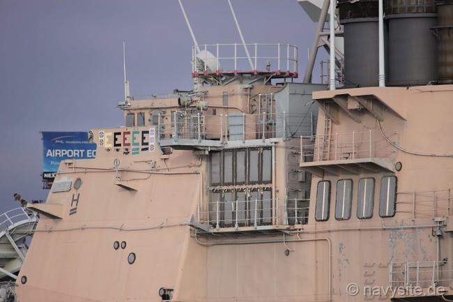 美军第一艘宙斯盾舰 提康德罗加号将被解体