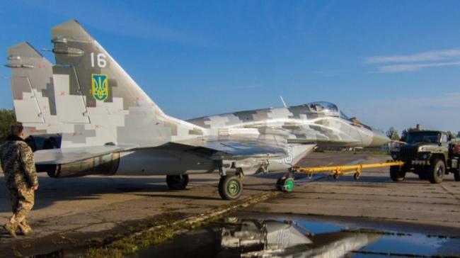 乌克兰改进型MiG-29MU1战斗机座舱无码大图