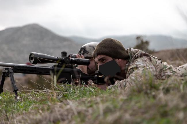 亚美尼亚特种部队行动 装备SSG08狙击步枪