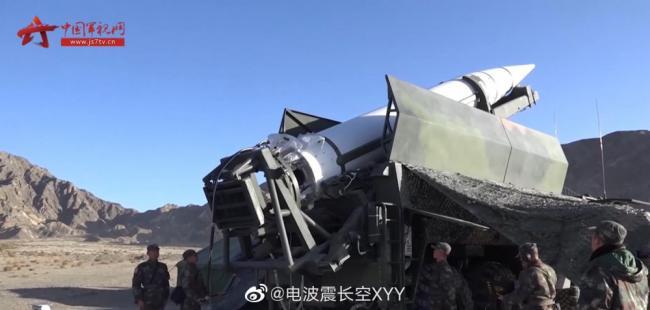东风15A导弹发射场面罕见曝光