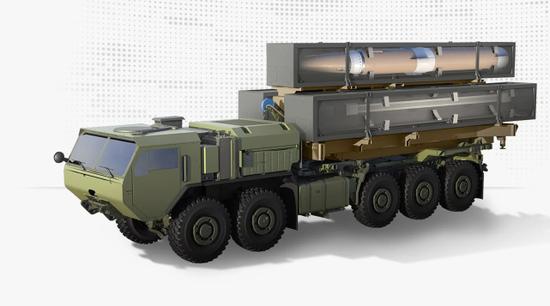 从发射车看美军高超声速导弹性能 性能不如东风17