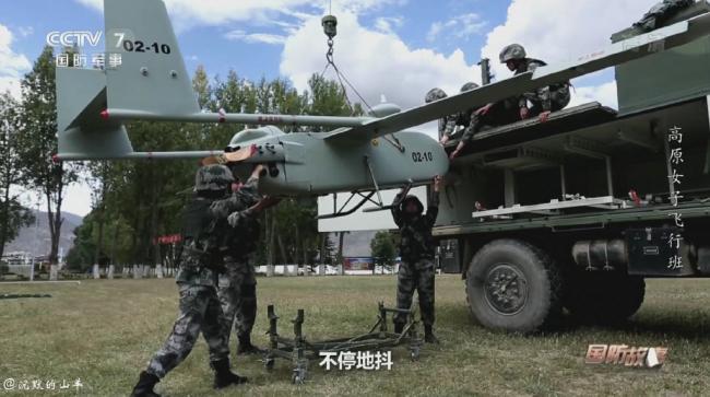 """解放军远火配备的无人机,可引导精准""""点杀"""""""