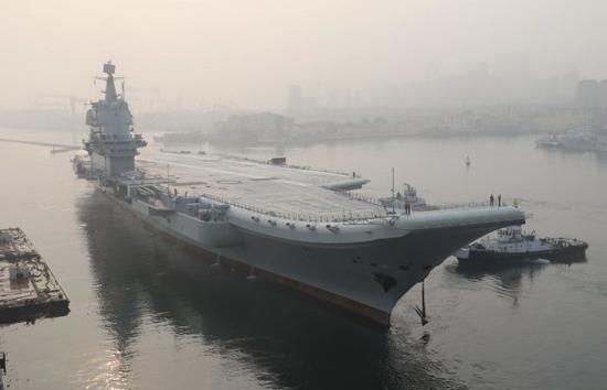 美智库:中国海军规模急剧扩大 5年新增100艘军舰