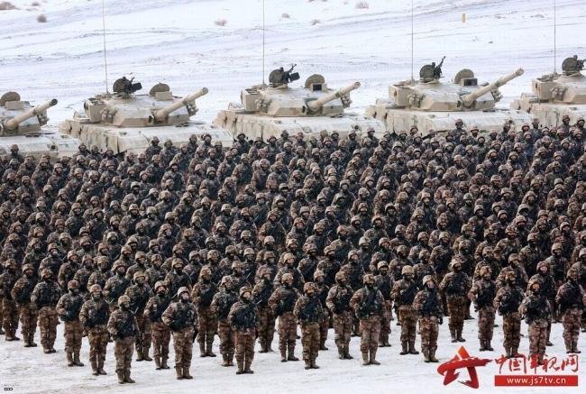 解放军新年开训,陆海空各兵种都进入状态