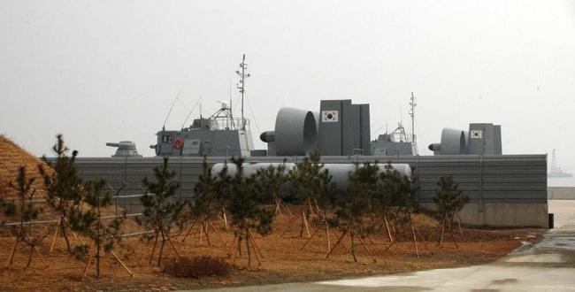俄提供气垫登陆艇给韩国提升其岛屿作战能力
