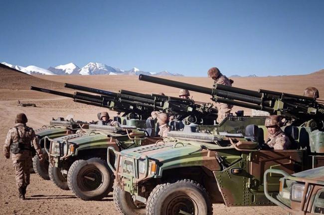 鸟枪换炮,西藏边防已经用上了新装备