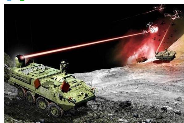 美军研发地表最强大雷射武器 瞬间蒸发攻击目标