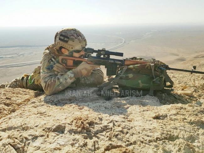 伊朗精锐士兵浑身一股美军范儿