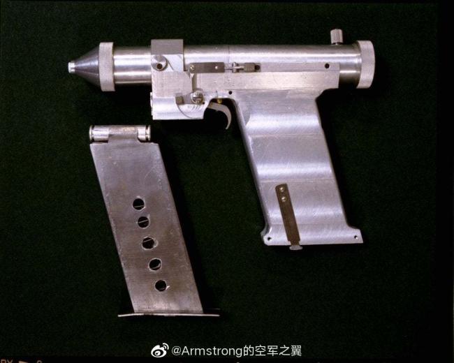 冷战时期苏联发明的太空激光手枪