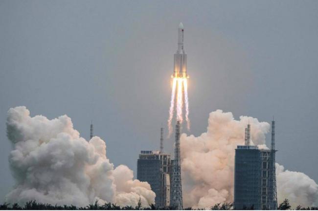 中國長徵火箭將墜落地球 美軍正密切追蹤位置