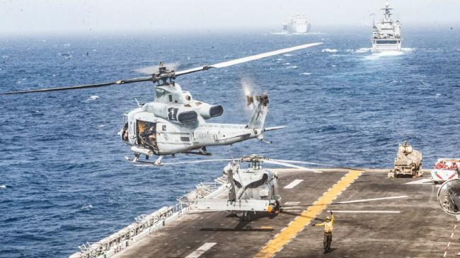 美國兩棲攻擊艦裝備反小型無人機繫統
