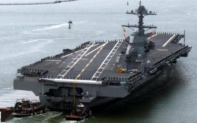 美海軍同時建造2艘航母,電磁彈射故障頻發,會被中國超越嗎?